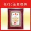 B520金質獎牌